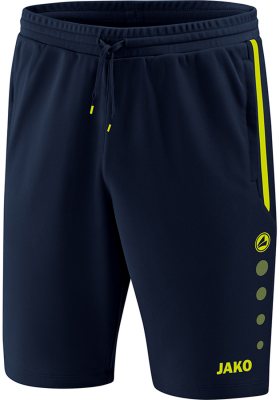 Jako Prestige Trainingshort marine-lemon