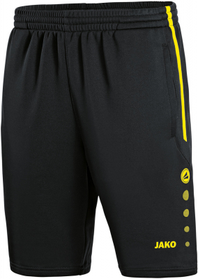 Jako Active Training Shorts schwarz-neongelb