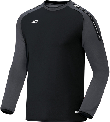 Jako Champ Sweat schwarz-anthrazit 2XL