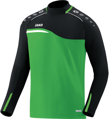 Jako Competition 2.0 Sweat soft green-schwarz