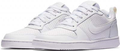 Nike Court Borough Low Damen Freizeitschuh weiß
