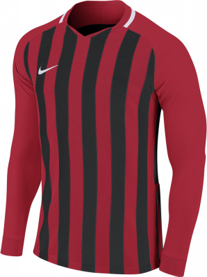 Nike Striped Division III Langarm Trikot university red