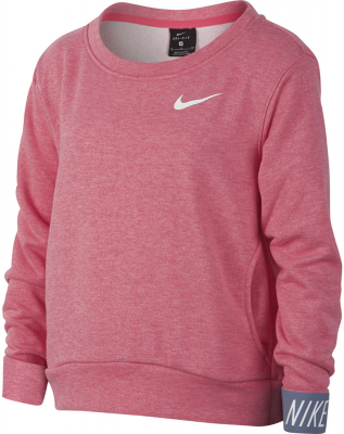 Nike Dry Kinder Pullover pink nebula-heather