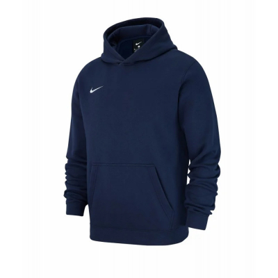 Nike Team Club 19 Kinder Full Zip Hoodie obsidian-weiß