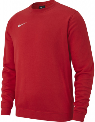 Nike Team Club 19 Crew Sweatshirt university red-weiß
