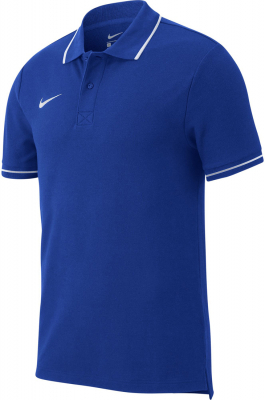 Nike Team Club 19 Polo royal blue-weiß