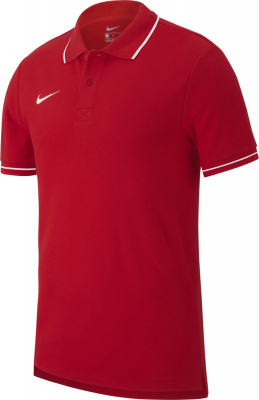 Nike Team Club 19 Polo university red-weiß