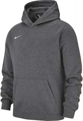 Nike Team Club 19 Kinder Hoodie charcoal heather-anthrazit