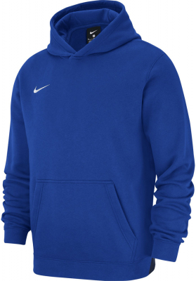 Nike Team Club 19 Kinder Hoodie royal blue-weiß