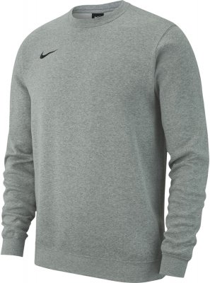 Nike Team Club 19 Crew Kinder Sweatshirt dark grey heather
