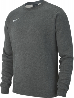 Nike Team Club 19 Crew Kinder Sweatshirt charcoal heather