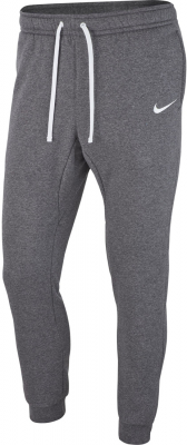 Nike Team Club 19 Kinder Fleece Pants charcoal heather-weiß