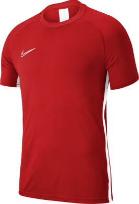 Nike Academy 19 Kinder Training Kurzarm Top university red