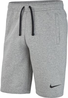 Nike Team Club 19 Fleece Shorts dark grey heather