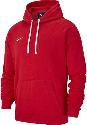 Nike Team Club 19 Hoodie university red-weiß