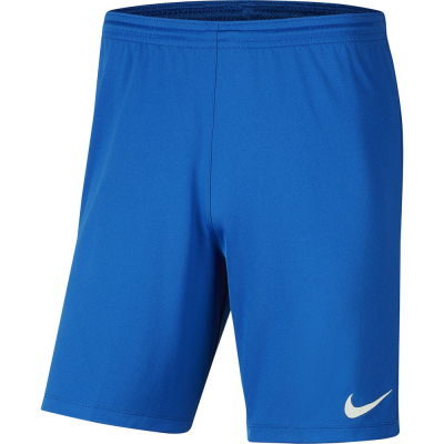 Nike Park III Herren Shorts royal blue-weiß