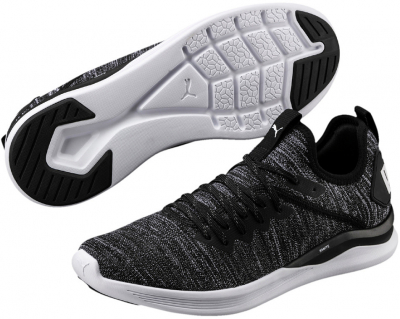Puma IGNITE Flash evoKNIT Trainingsschuh puma black-asphalt 42