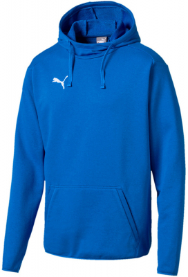 Puma Liga Casuals Hoodie electric blue lemonade-puma white S