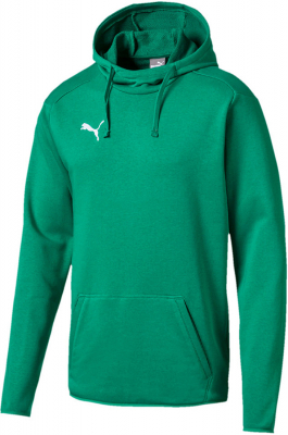 Puma Liga Casuals Hoodie pepper green-puma white
