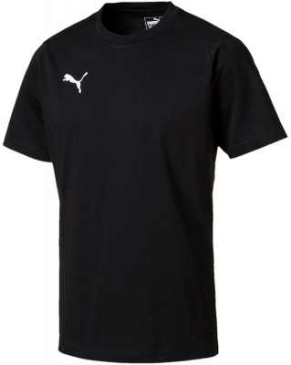 Puma Liga Casuals T-Shirt puma black-puma white XL