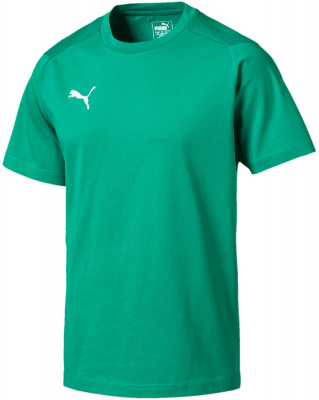 Puma Liga Casuals T-Shirt pepper green-puma white