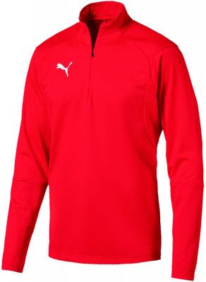Puma Liga Training 1/4 Zip Top puma red-puma white