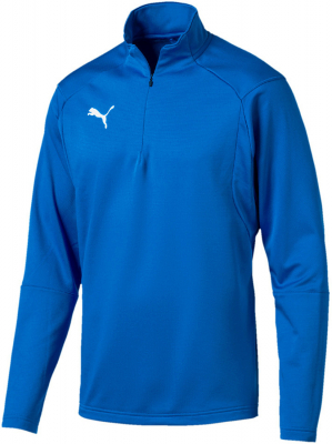 Puma Liga Training 1/4 Zip Top electric blue lemonade