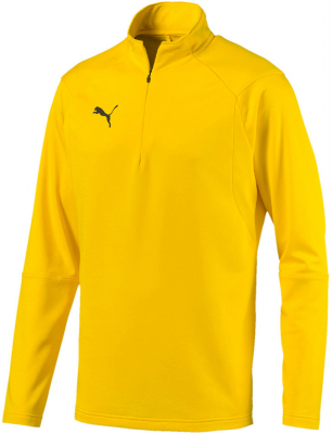 Puma Liga Training 1/4 Zip Top cyber yellow-puma black