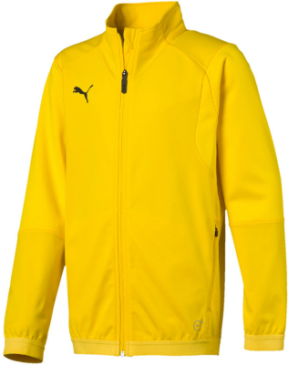 Puma Liga Kinder Trainingsjacke cyber yellow-puma black