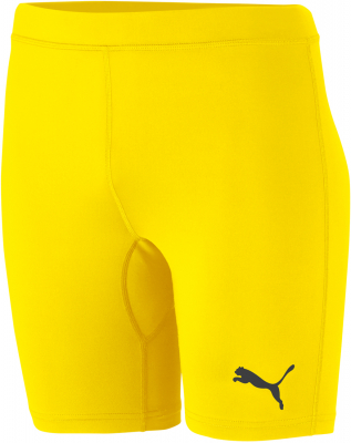 Puma Liga Kinder Baselayer Short Tights cyber yellow