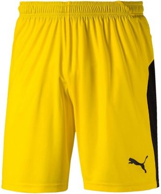 Puma Liga Shorts cyber yellow-puma black