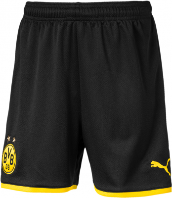 Puma BVB Replica Kinder Shorts puma black-cyber yellow
