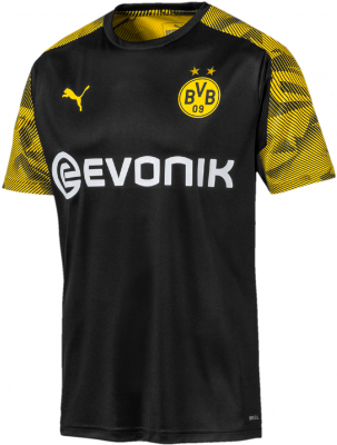 Puma BVB Training Trikot puma black-cyber yellow
