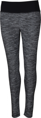 York Neni-l Damen Funktionsleggings grau melange-schwarz 44