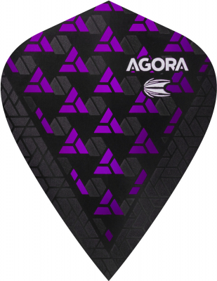 Target Agora Ultra Ghost Flights Kite purple Kite