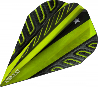 Target Voltage Vision Ultra Flights Vapor lime green Vapor