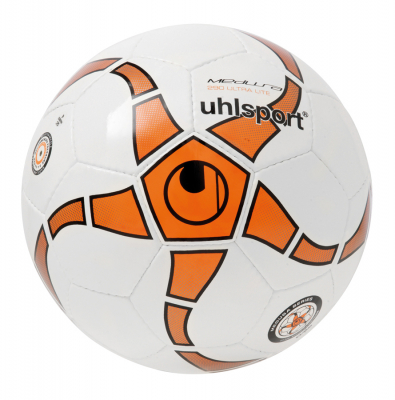 Uhlsport MEDUSA ANTEO 290 ULTRA LITE Futsal-Ball weiß-orange