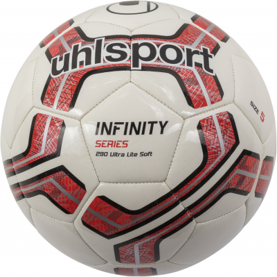 Uhlsport Infinity 290 Ultra Lite Soft Fußball weiß-rot