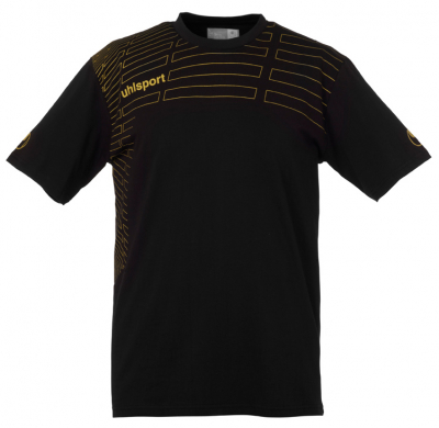 Uhlsport Match Trainings T-Shirt schwarz-gold
