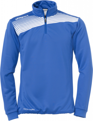 Uhlsport Liga 2.0 1/4 Zip Top azurblau-weiß