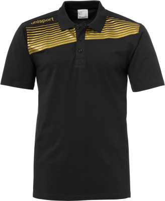 Uhlsport Liga 2.0 Polo Shirt schwarz-gold