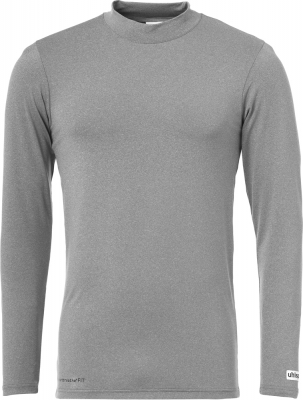 Uhlsport Funktionsshirt Langarm dark grey melange