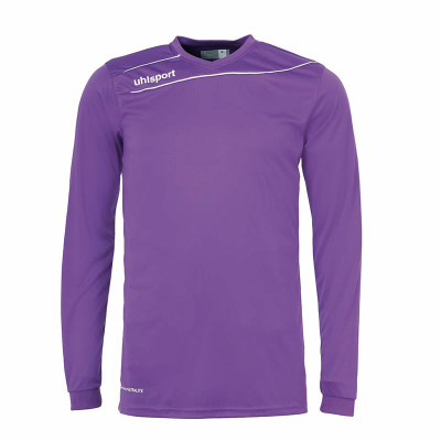 Uhlsport Stream 3.0 Langarm Trikotset purple-weiß