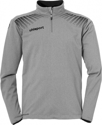 Uhlsport Goal 1/4 Zip Top dark grey melange-schwarz