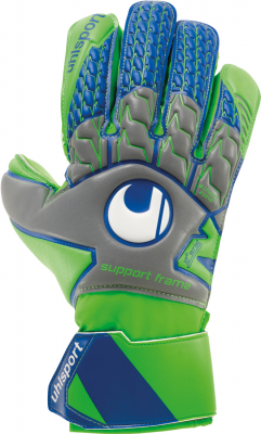 Uhlsport TENSIONGREEN SOFT SF Torwarthandschuh dark grau 9