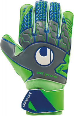 Uhlsport TENSIONGREEN SOFT PRO Torwarthandschuh dark grau 8,5