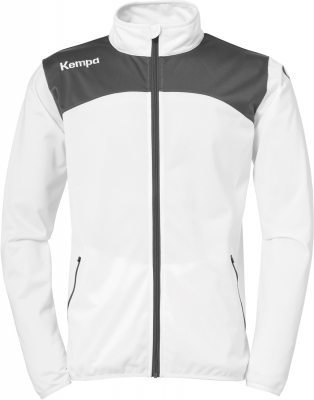 Kempa Emotion 2.0 Polyesterjacke weiß-anthrazit