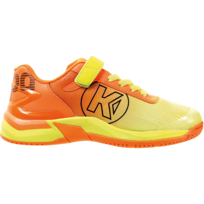 Kempa Kinder Handballschuh Attack 2.0 orange-gelb 34