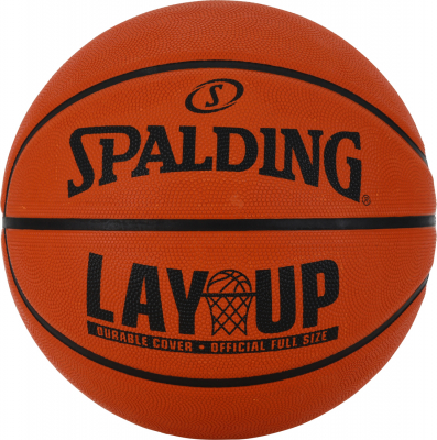 Spalding Layup Basketball Größe 5 orange 5
