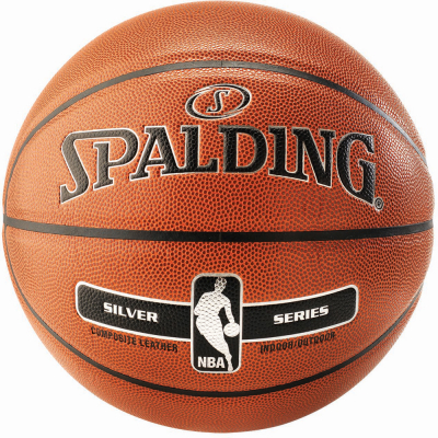 Spalding NBA Silver In/Out Basketball Größe 7 orange 7
